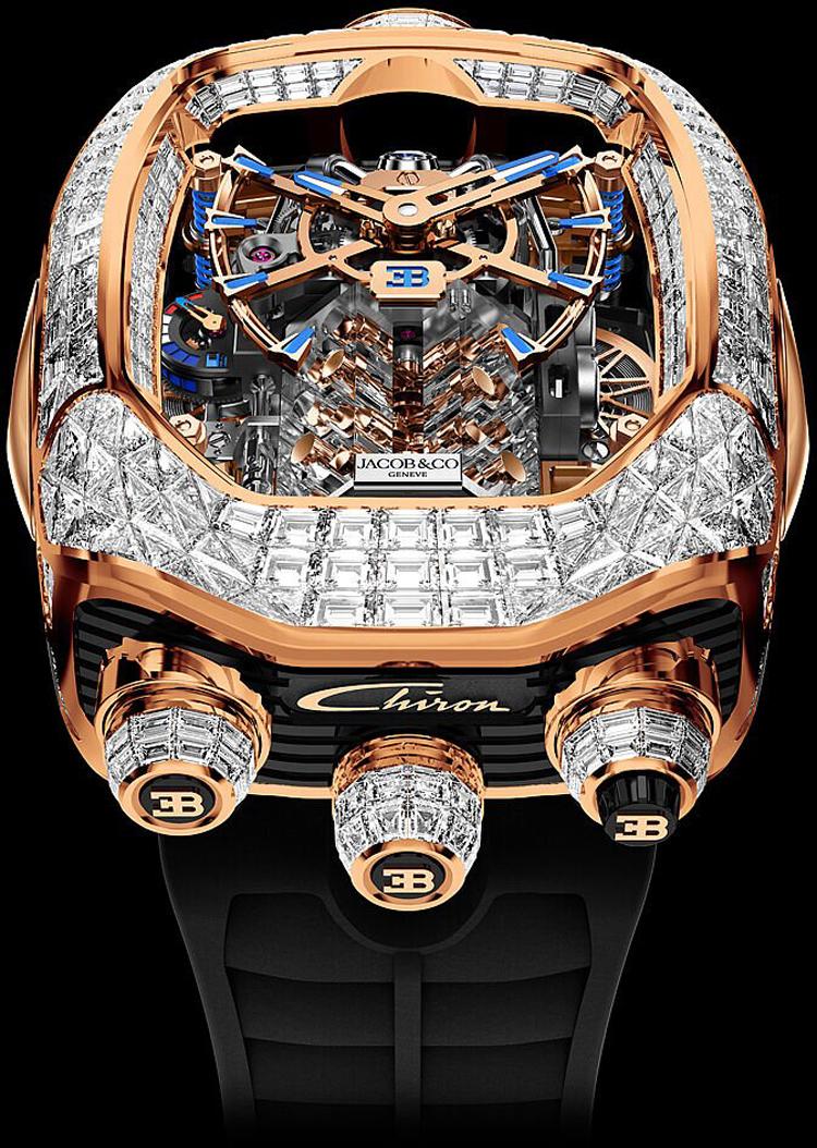 Jacob-Co Bugatti Chiron Tourbillon Timepiece Limited Editions-1