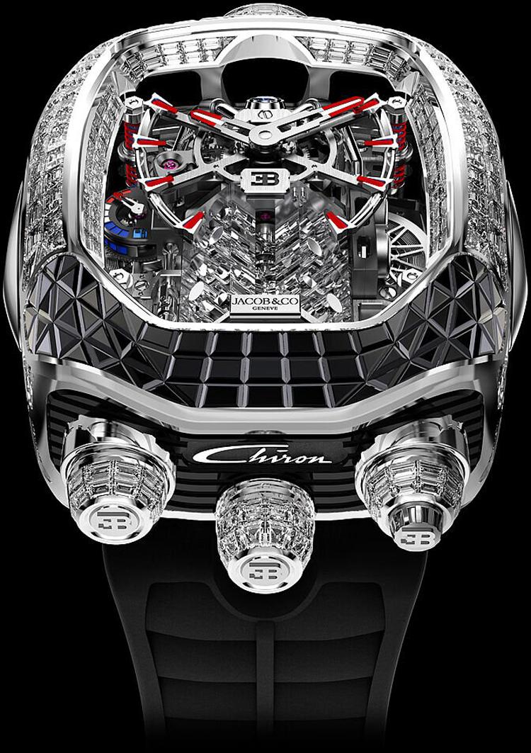 Jacob-Co Bugatti Chiron Tourbillon Timepiece Limited Editions-2