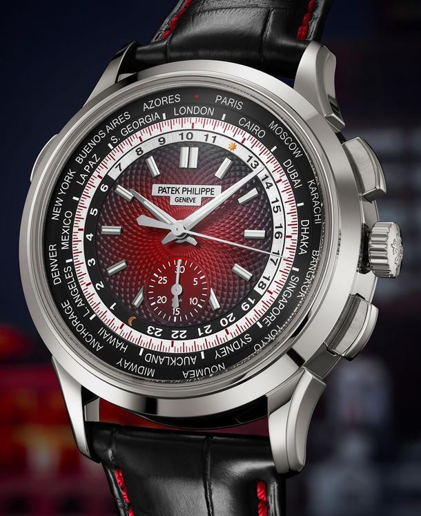 Patek Philippe World Time Chronograph-2
