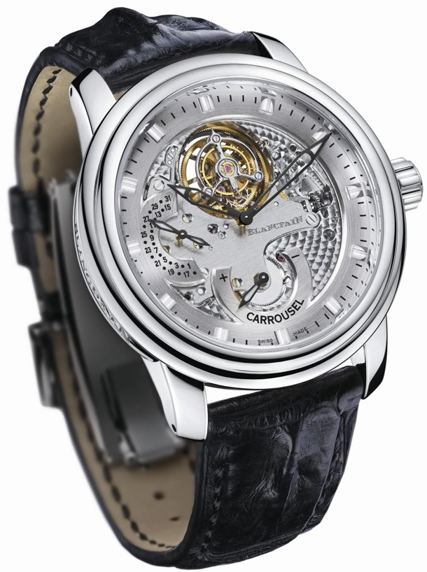 Blancpain Carrousel Volant Une Minute 00225-3434-64B Press