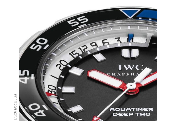 IWC Aquatimer Deep Two Depth Gauge Scale