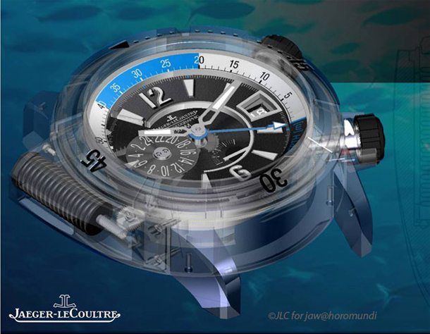 Master Compressor Diving Pro Geographic Глубиномер