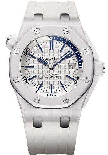 SIHH 2014 Audemars Piguet Royal Oak Offshore Diver White Ceramic/Audemars-Piguet-Royal-Oak-Offshore-White-Ceramic-Case