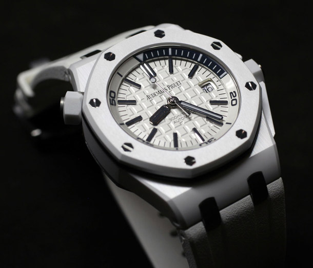 SIHH 2014 Audemars Piguet Royal Oak Offshore Diver White Ceramic/IMG_9002