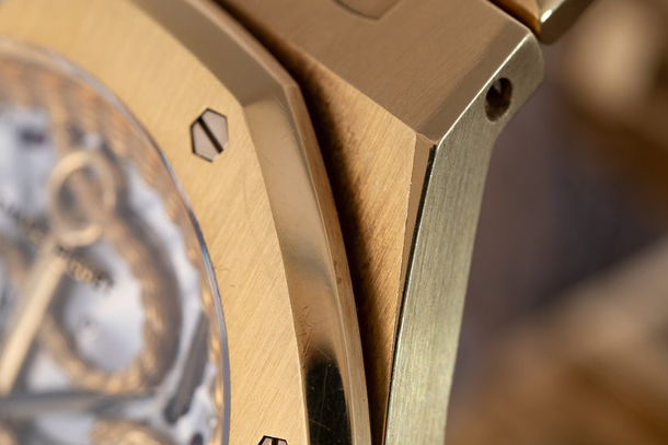Audemars Piguet Royal Oak With Gold Relief Dial-4