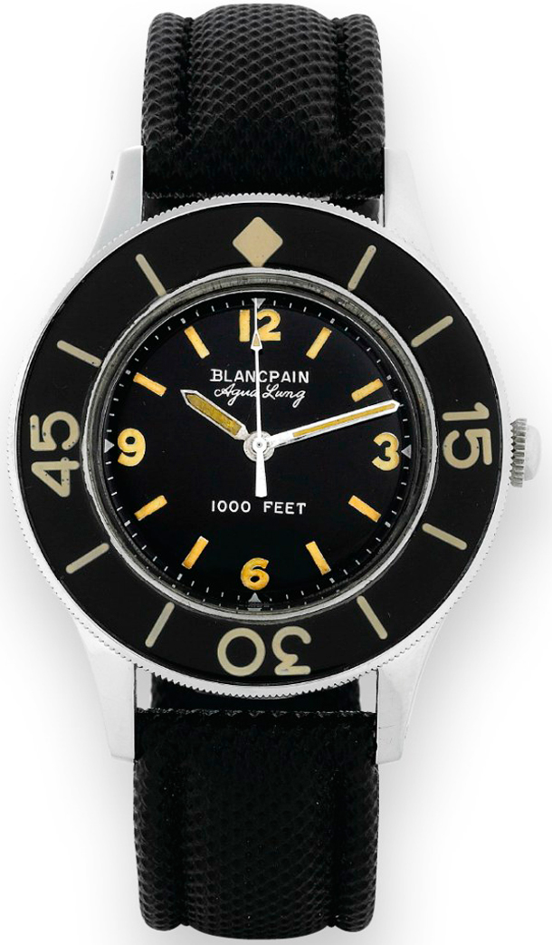 BLANCPAIN-Fifty-Fathoms-Aqua-Lung-original-watch