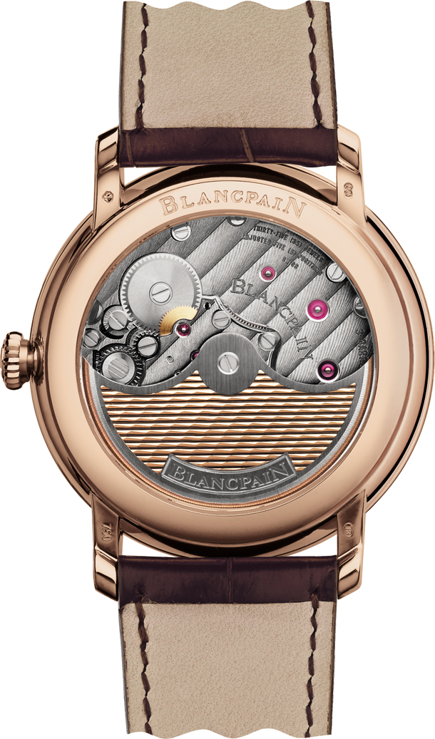 Blancpain Villeret collection - 8 Jours  6630-3631_55B_back