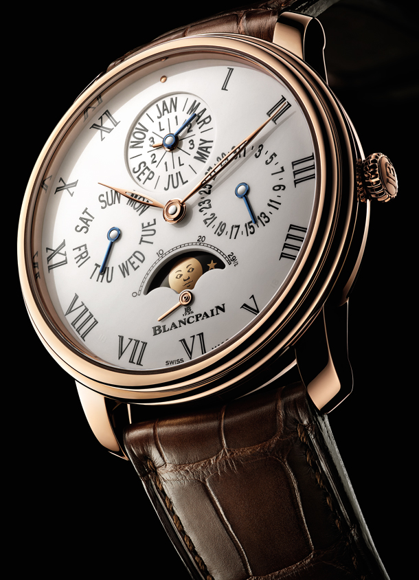 Blancpain Villeret collection - Quantieme Perpetuel  6659-3631-55B_PR