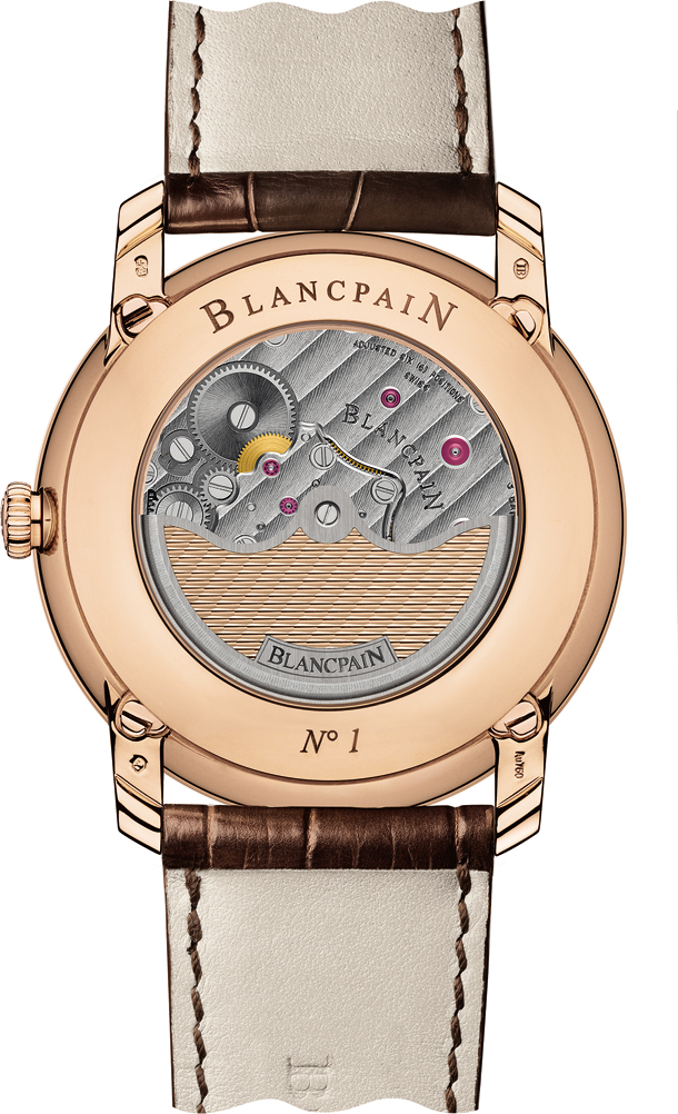Blancpain Villeret collection - Quantieme Perpetuel 6659-3631-55B_back