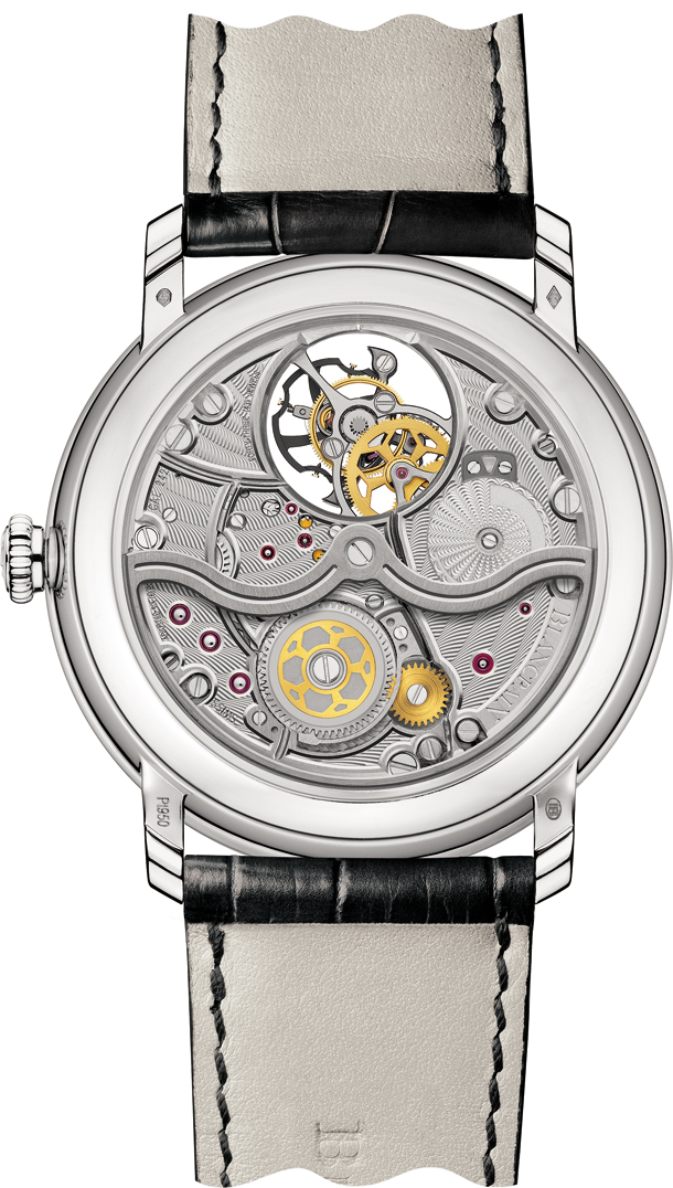 Blancpain Villeret collection - Tourbillon 66240-3431-55B_back