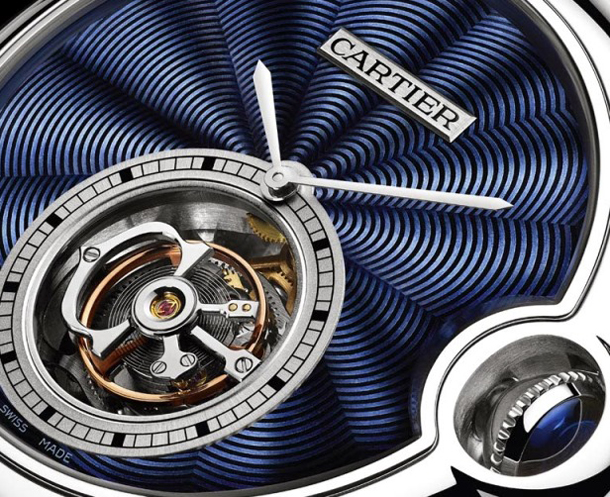 Cartier-Ballon-Bleu-de-Cartier-39mm-Flying-Tourbillon-Blue-Flinque-Dial-Detail