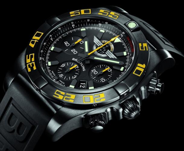 Breitling-Chronomat-44-Blacksteel-for-Jet-Team-American-Tour
