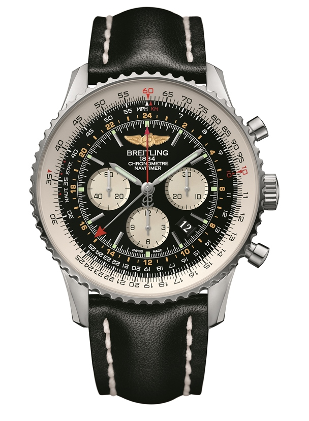 Breilting-Navitimer-GMT-in-steel