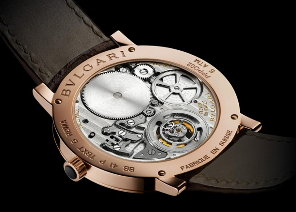 Roma Finissimo Ultra-Thin Tourbillon Bvlgari