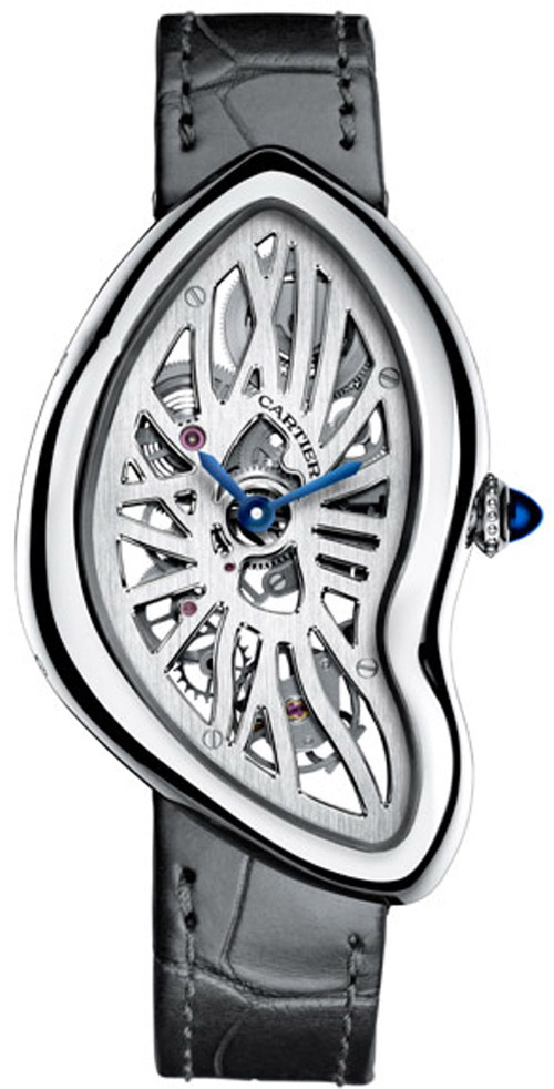 Cartier-Crash-Skeleton-watch