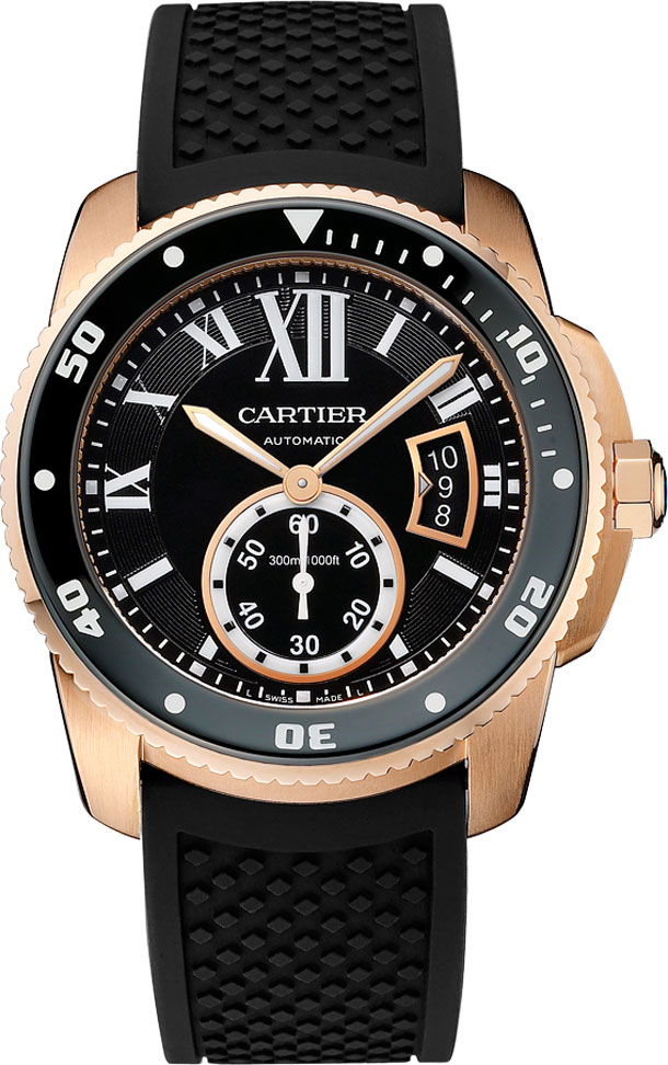 Cartier-Calibre-de-Carter-Diver-Rose-Gold