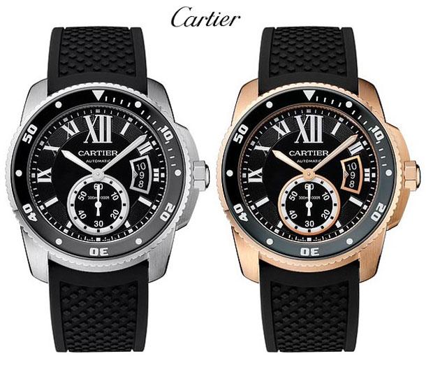 Cartier-Calibre-de-Carter-Diver-duo