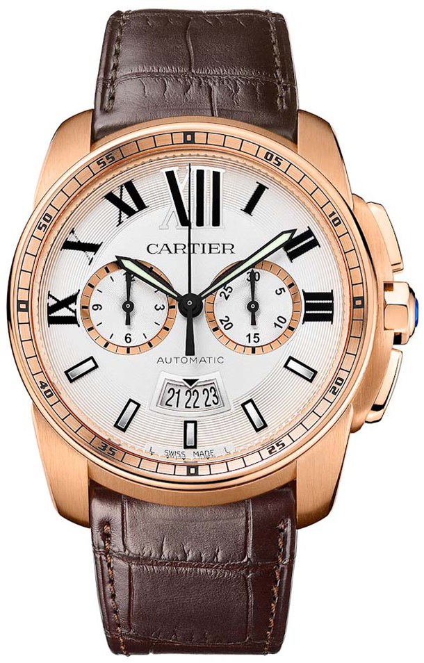 Cartier-Caliber-Chronograph-Rose-Gold-w-Manufacture-Movement