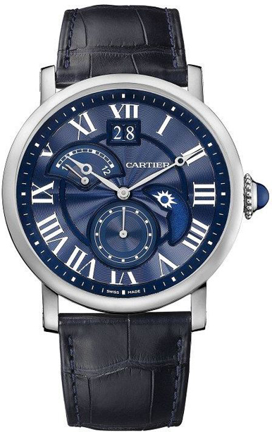 Rotonde-de-Cartie-Second-Time-Zone-Day-Night-Blue-dial