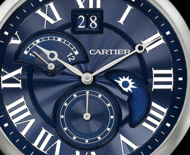 Rotonde-de-Cartier-Second-Time-Zone-Day-Night-Blue-dial-detail