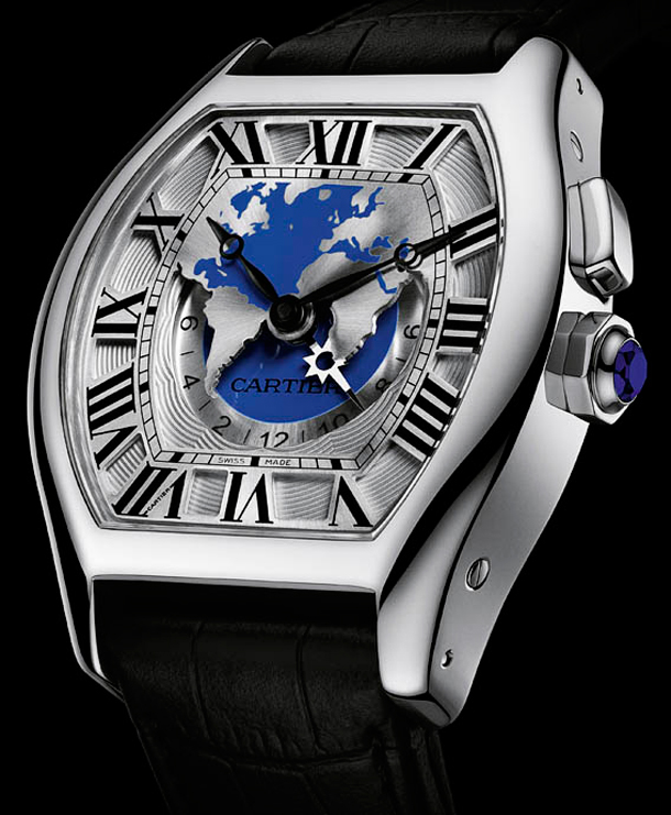 Cartier-Tortue-Worldtime-White-Gold