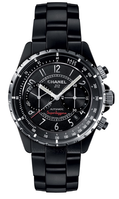Chanel-J12-Superleggera-Black-Matte-chronograph-Basel-2013