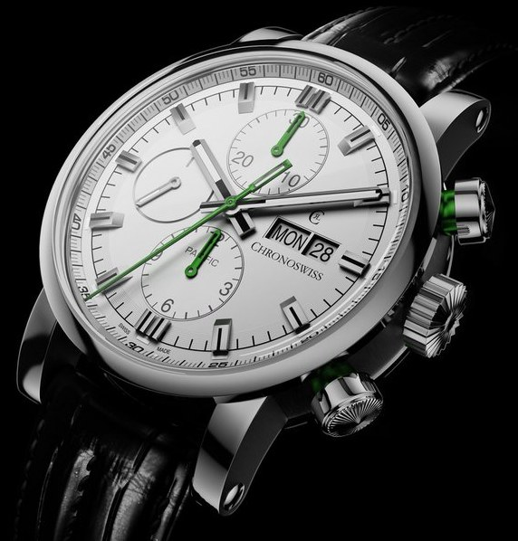 chronoswiss-pacific-silver-green