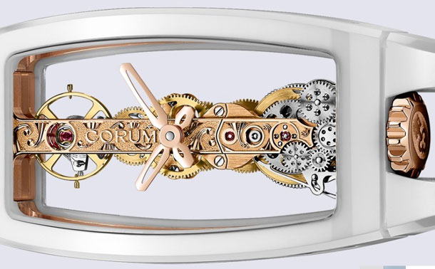 Corum-Miss-Golden-Bridge-in-White-Ceramic-sideviw