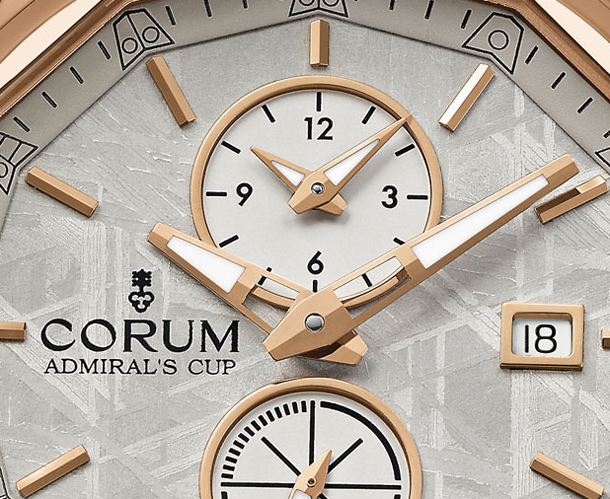 Corum-Admirals-Cup-Legend-42-Meteorite-Dial-Closeup