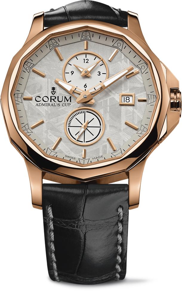 Corum-Admirals-Cup-Legend-42-Meteorite-Dual-Time-Watch
