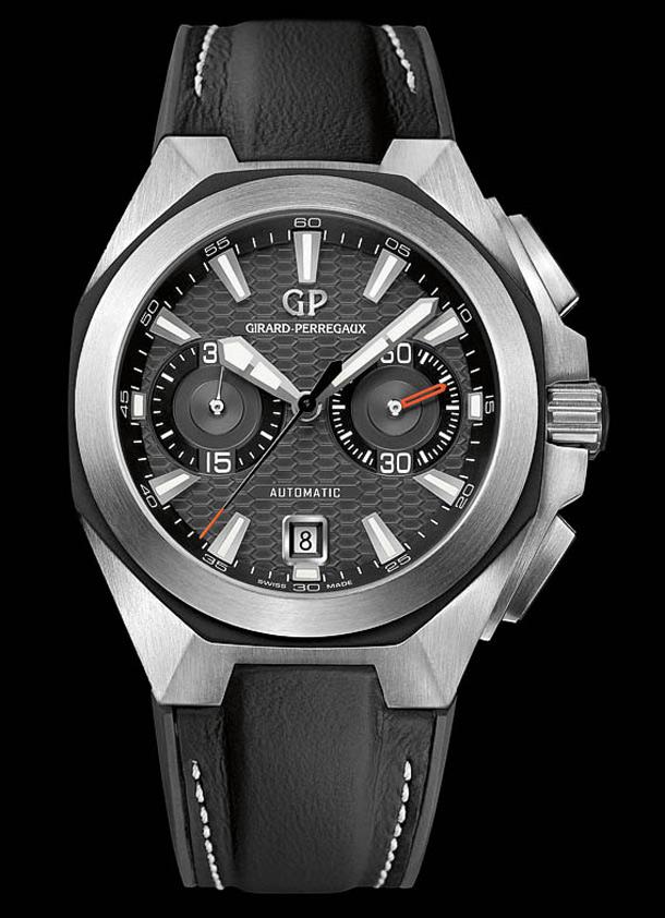 Girard-Perregaux-Chrono-Hawk-Black-Dial