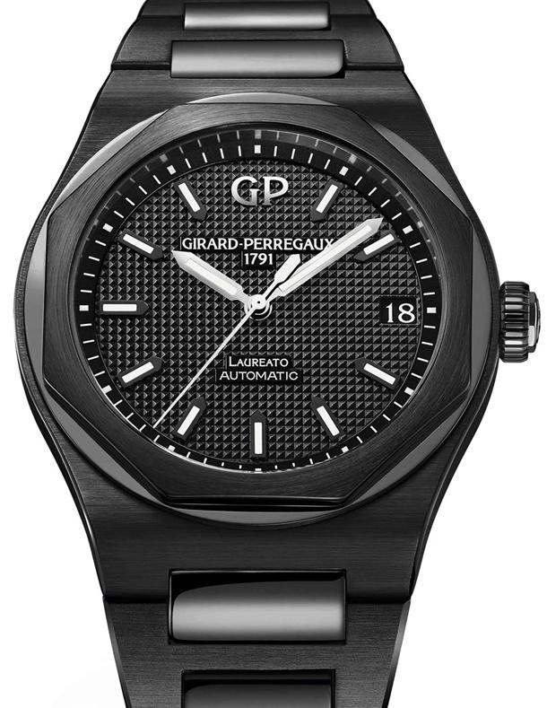 Girard-Perregaux-Laureato-42mm-Black-Ceramic-1