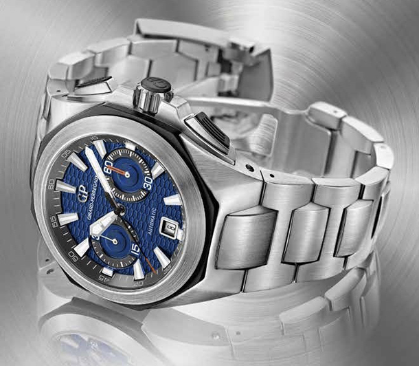 Girard-Perregaux-Chrono-Hawk-blue-Bracelet