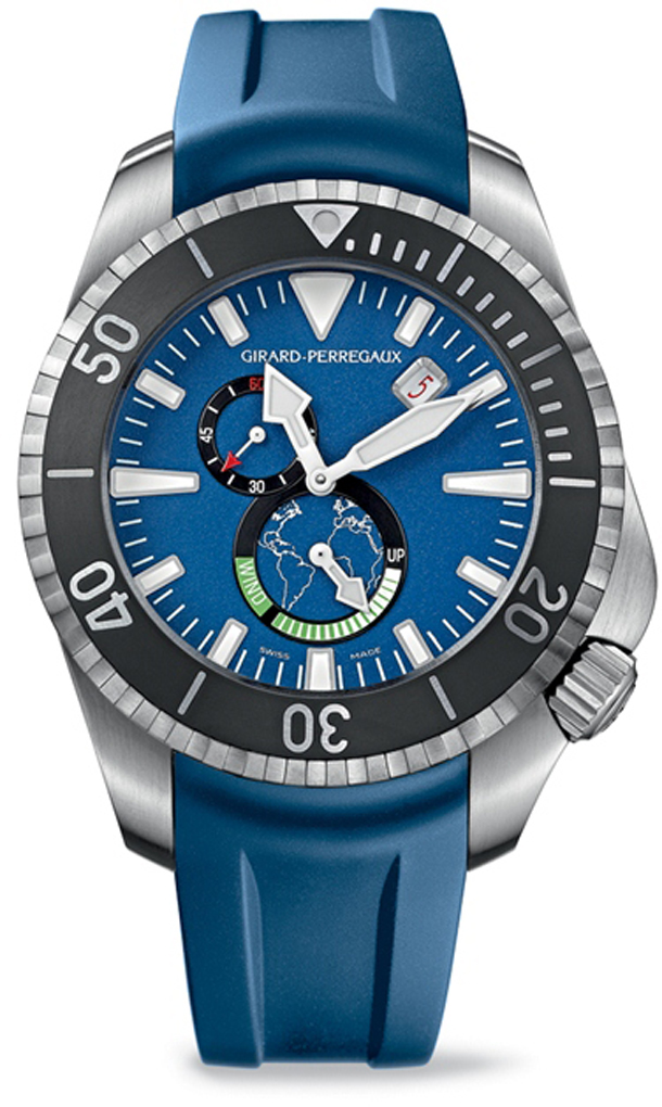 Girad-Perregaux-Seahawk-Big-Blue-Dive-Watch