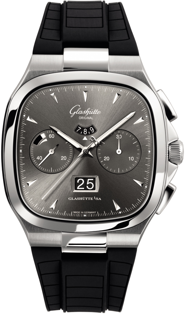 Seventies Chronograph Panorama Date/Glashutte 1-37-02-01-02-33
