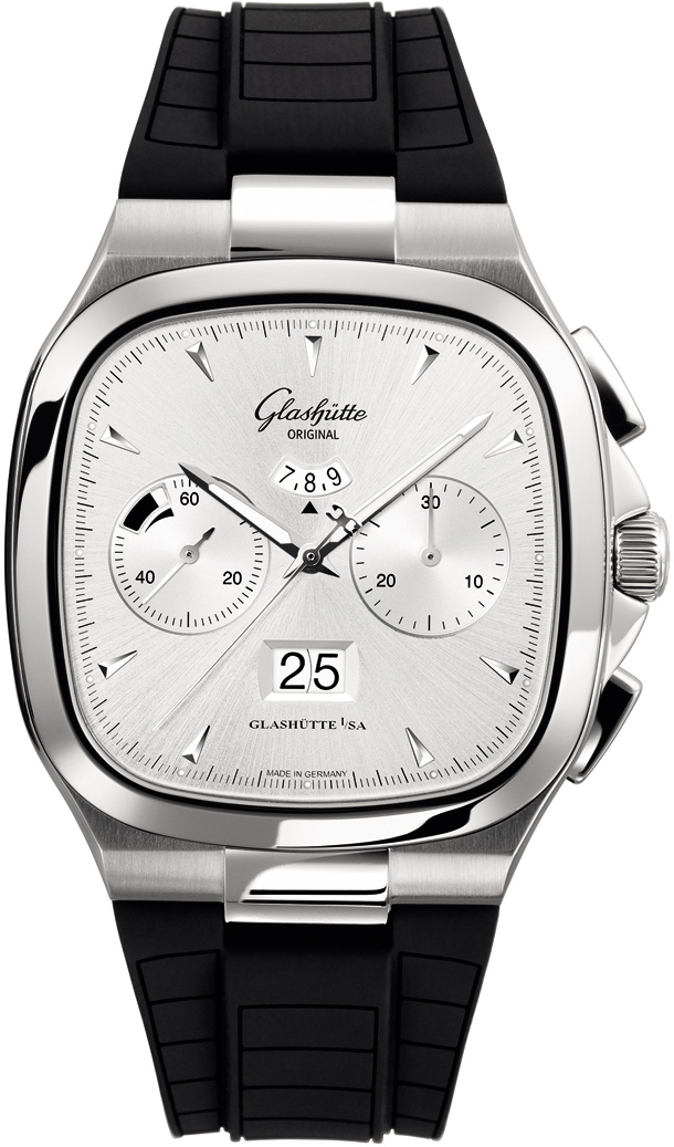 Seventies Chronograph Panorama Date/Glashutte 1-37-02-02-02-33