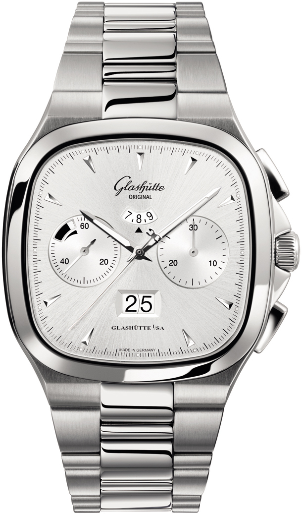 Seventies Chronograph Panorama Date/Glashutte 1-37-02-02-02-70