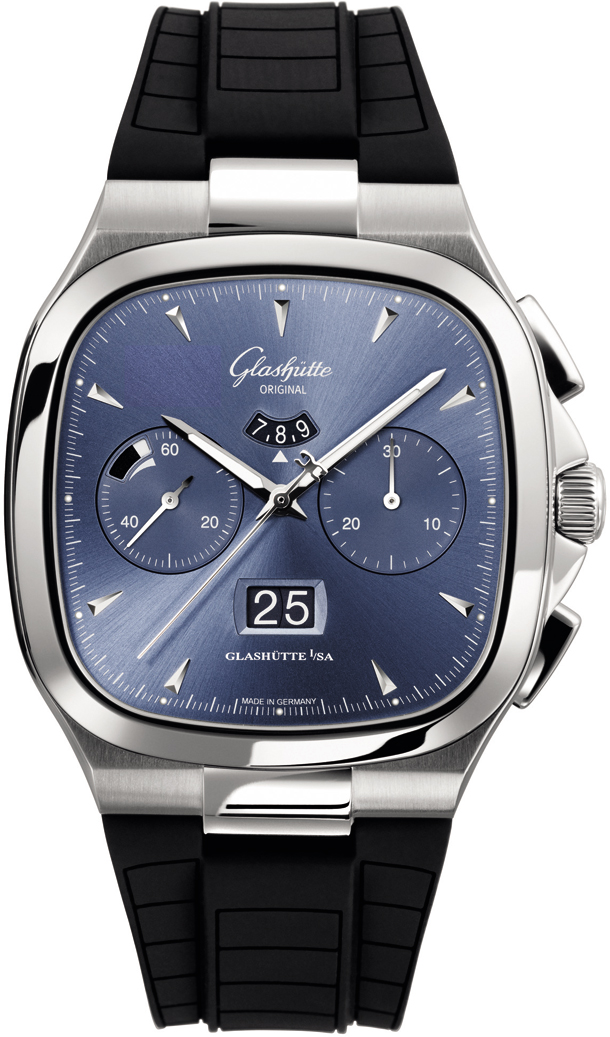 Seventies Chronograph Panorama Date/Glashutte 1-37-02-03-02-33