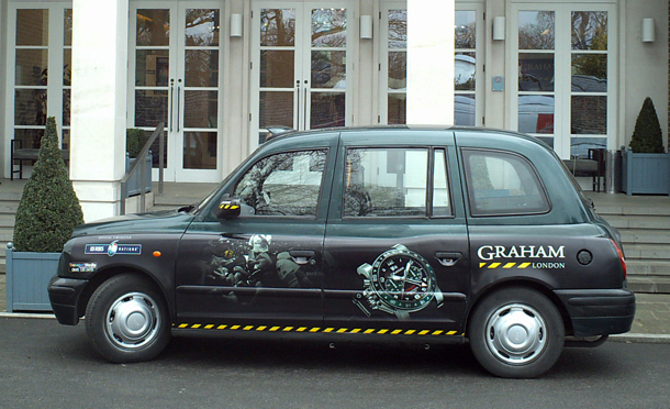 Graham rugby Taxis in London