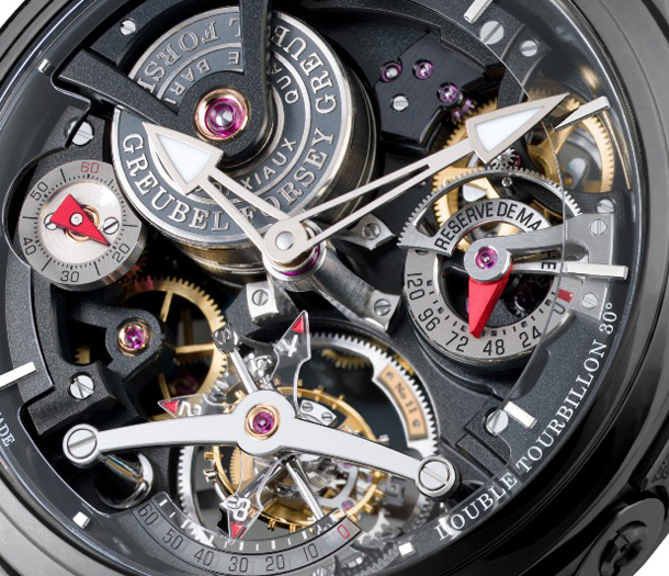 Greubel-Forsey-Double-Tourbillon-Technique-Black-Watch-Closeup