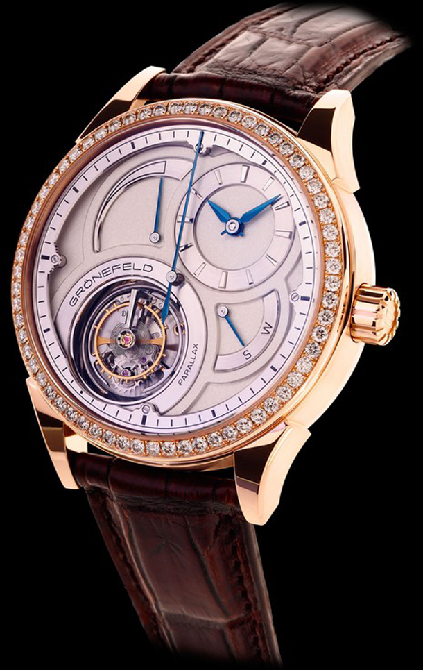 Gronefeld Parallax Tourbillon 1912 Diamonds