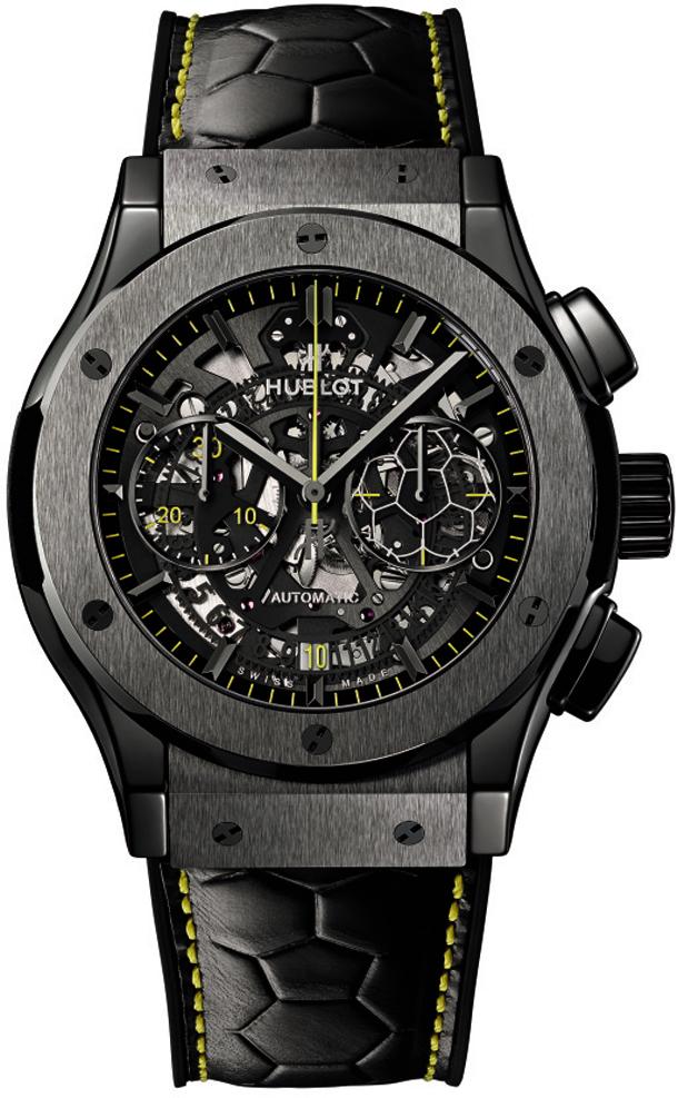Hublot-Classic-Fusion-Pele-Watch-Dial-Detail