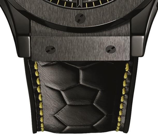 Hublot-Classic-Fusion-Pele-Watch-Strap-Detail