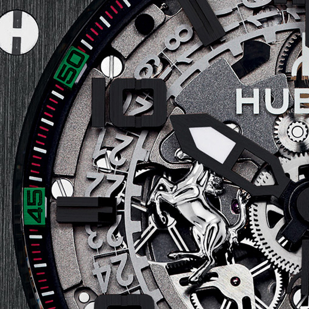 Hublot-Big-Bang-Ferrari-UAE-Limited-Edition-Dial-Close