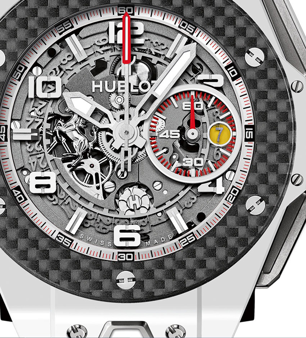 Hublot-Big-Bang-Ferrari-White-Ceramic-Carbon-dial