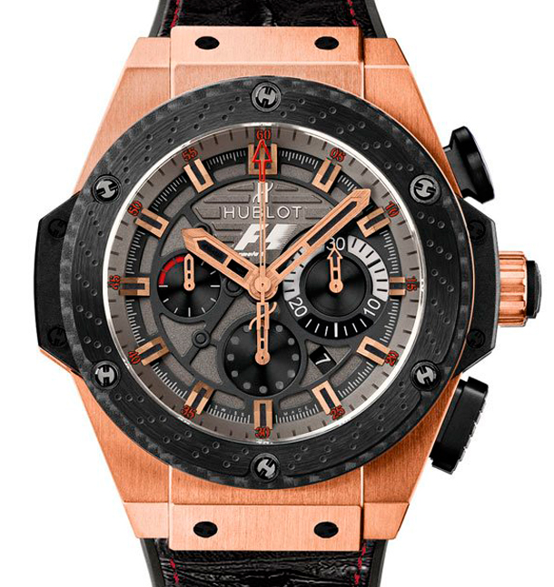 F1 King Power Great Britain Hublot