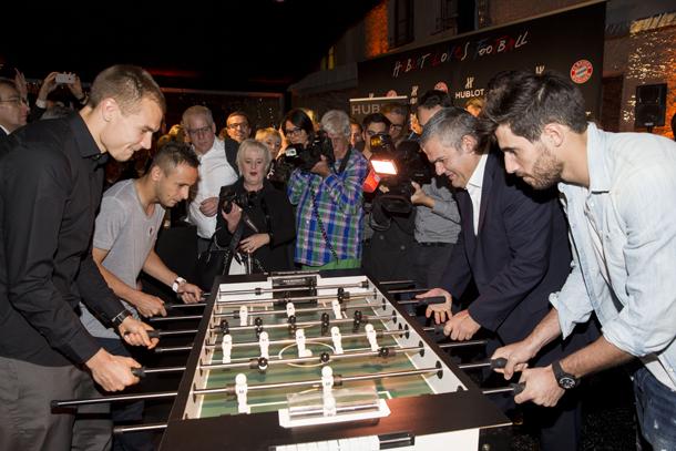 holger-badstuber-rafinha-ricardo-guadalupe-and-javier-martinez-playing-mini-table-football