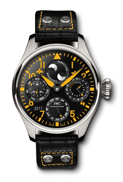 Yellow-IWC-Big-Pilot-Perpetual-Calendar-Boutique-Exclusive