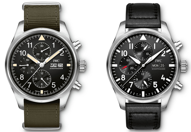 IWC-Pilots-Watch-Chronograph-IW377724-vs-IW377709
