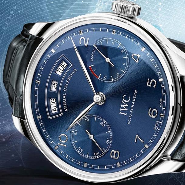 IWC-Portuguese-Annual-Calendar-Ref-503502-blue-dial